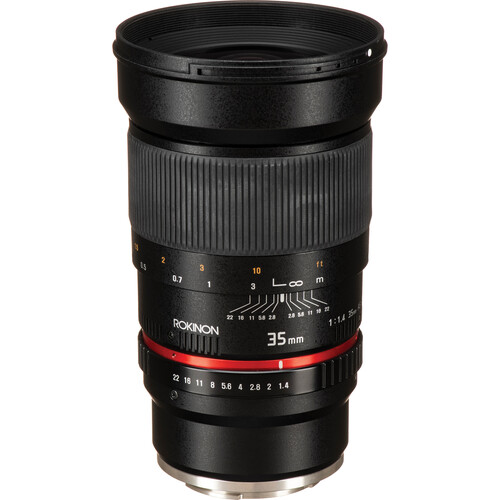 Rokinon 35mm f/1.4 AS UMC Lens for Sony E Mount
