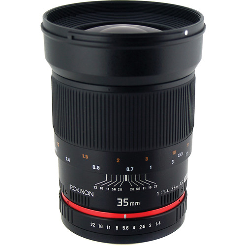 Rokinon 35mm f/1.4 AS UMC Lens for Fujifilm X Mount