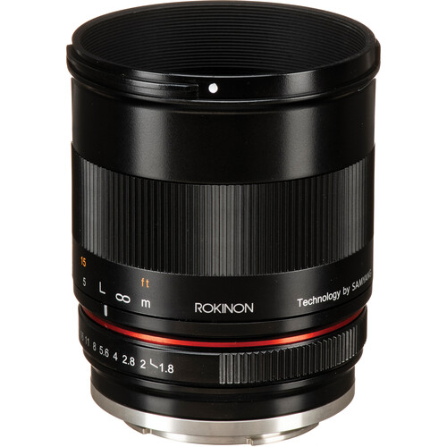 Rokinon 85mm f/1.8 Lens for Canon EF-M