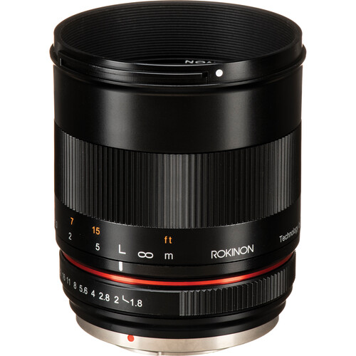 Rokinon 85mm f/1.8 Lens for Micro Four Thirds