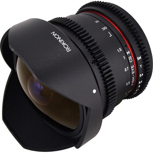 Rokinon 8mm T3.8 Cine UMC Fisheye CS II Lens for Micro Four Thirds Mount