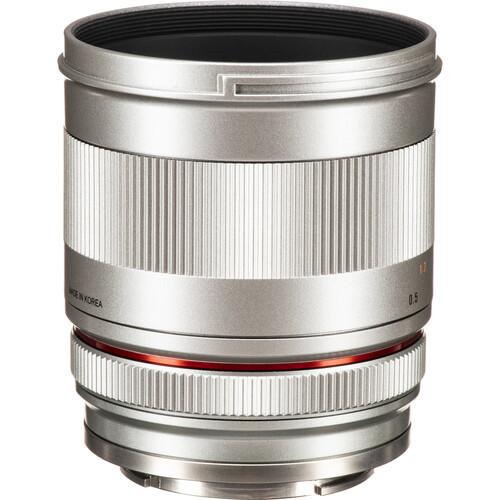 Rokinon 50mm f/1.2 Lens for Sony E (Silver)