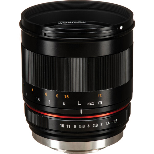 Rokinon 50mm f/1.2 Lens for Fujifilm X (Black)