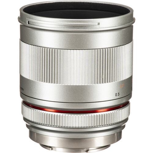 Rokinon 50mm f/1.2 Lens for Fujifilm X (Silver)
