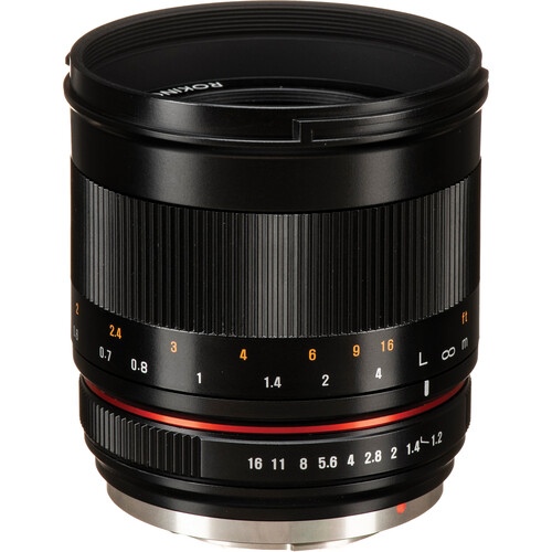 Rokinon 50mm f/1.2 Lens for Micro Four Thirds (Black)