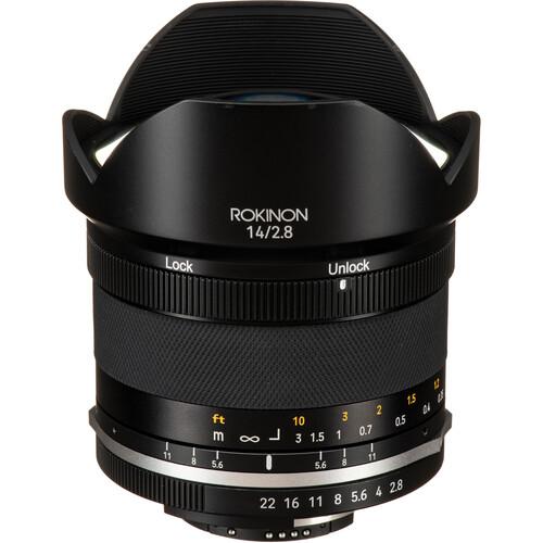 Rokinon 14mm f/2.8 Series II Lens for Nikon F