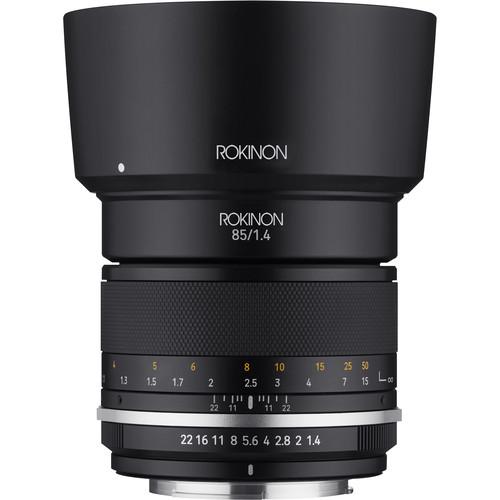 Rokinon 85mm f/1.4 Series II Lens for Nikon F