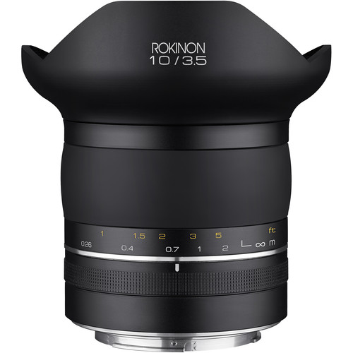 Rokinon SP 10mm f/3.5 Lens for Canon EF