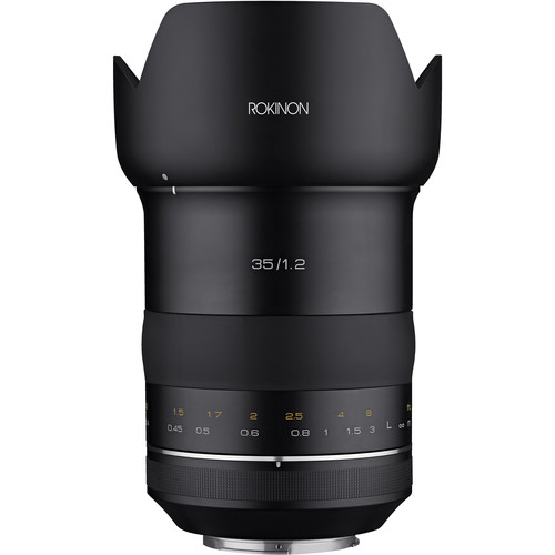 Rokinon SP 35mm f/1.2 Lens for Canon EF