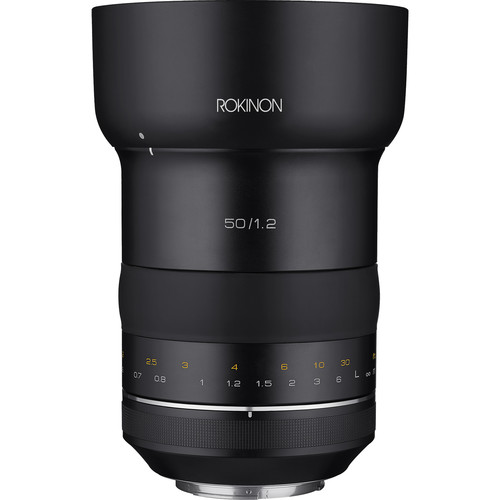 Rokinon SP 50mm f/1.2 Lens for Canon EF