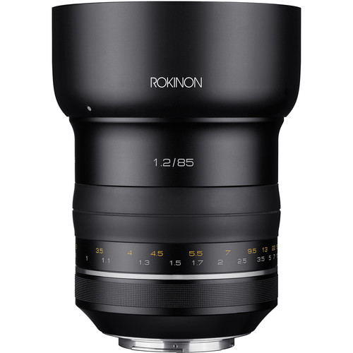 Rokinon SP 85mm f/1.2 Lens for Canon EF
