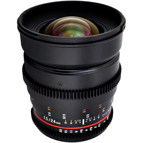 Rokinon T1.5 Cine Lens Bundle for Nikon F Mount