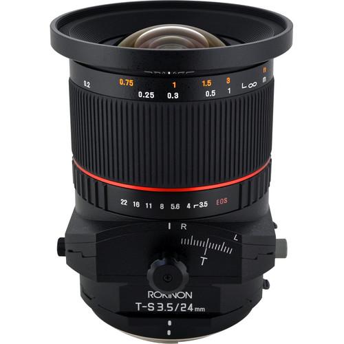 Rokinon Tilt-Shift 24mm f/3.5 ED AS UMC Lens for Canon