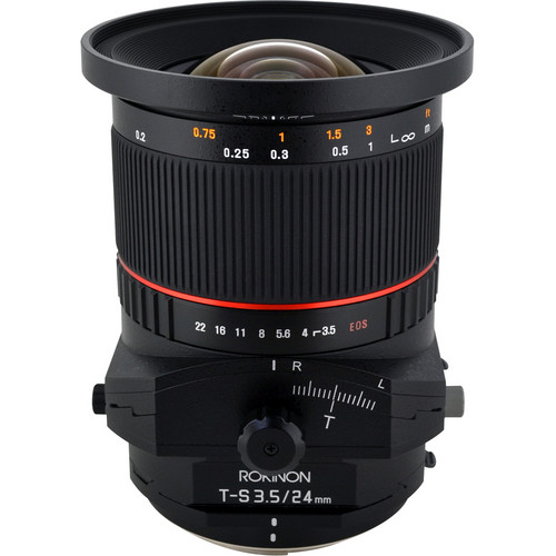 Rokinon Tilt-Shift 24mm f/3.5 ED AS UMC Lens for Canon