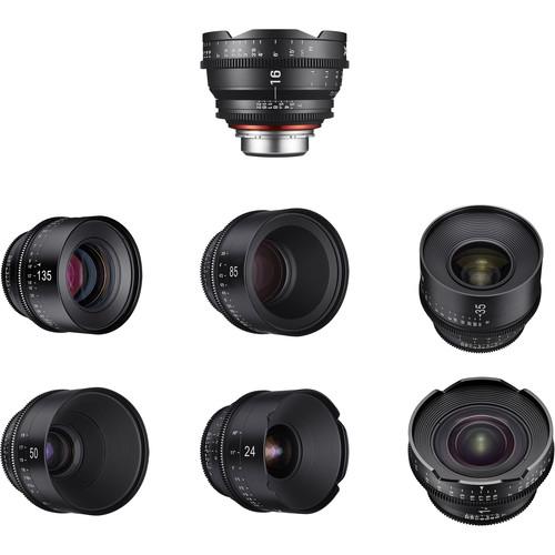 Rokinon Xeen 14, 16, 24, 35, 50, 85, 135mm Cine 7 Lens Bundle (MFT)