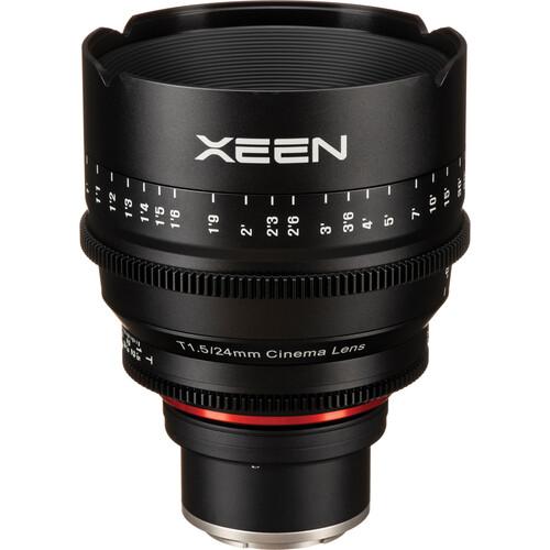 Rokinon Xeen 24, 50, 85mm T1.5 Lenses for Sony E Mount