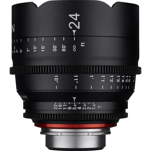 Rokinon Xeen 24, 50, 85mm T1.5 Lenses for PL Mount