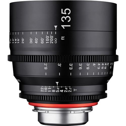 Rokinon Xeen 135mm T2.2 Lens with MFT Mount