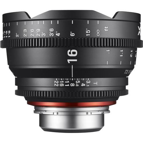 Rokinon Xeen 16mm T2.6 Lens (Micro Four Thirds)