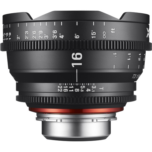 Rokinon Xeen 16mm T2.6 Lens (Nikon F)