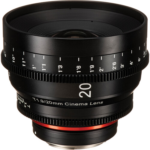 Rokinon Xeen 20mm T1.9 Lens with Canon EF Mount