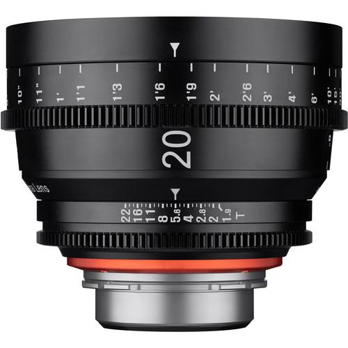 Rokinon Xeen 20mm T1.9 Lens with Sony E Mount