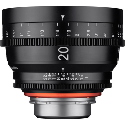 Rokinon Xeen 20mm T1.9 Lens with Sony E Mount