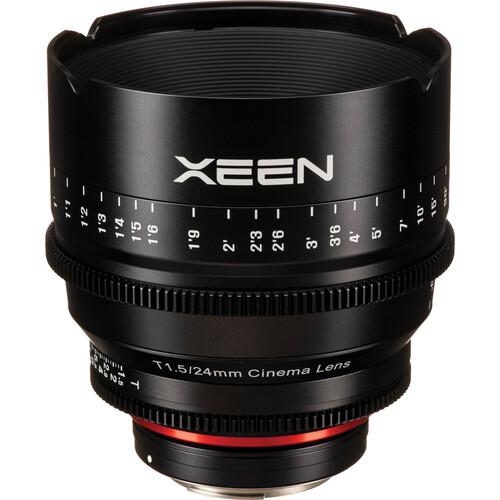 Rokinon Xeen 24mm T1.5 Lens - Canon EF Mount