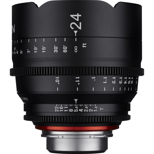 Rokinon Xeen 24mm T1.5 Lens for PL Mount