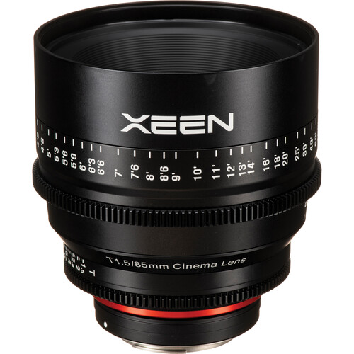 Rokinon Xeen 85mm T1.5 Lens for Canon EF Mount