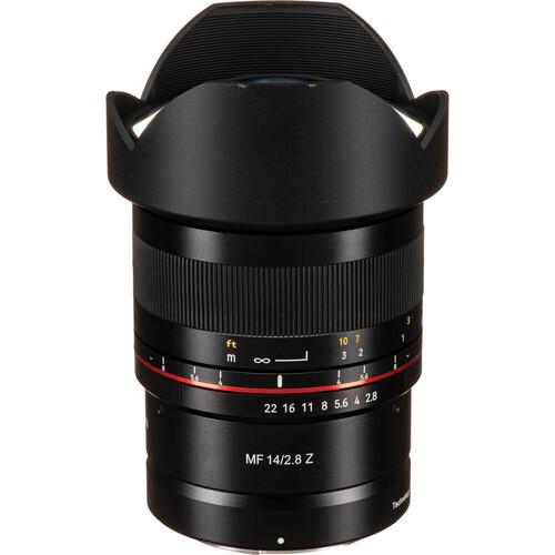 Rokinon 14mm f/2.8 Lens for Nikon Z