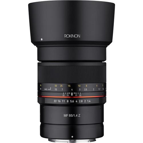 Rokinon 85mm f/1.4 Lens for Nikon Z