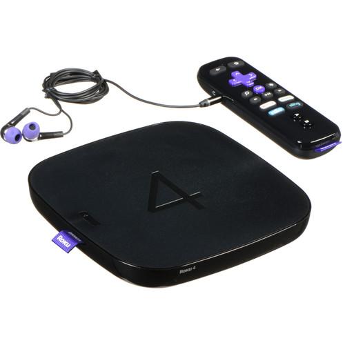 Roku 4 Streaming Media Player (4K/UHD)