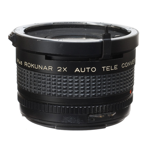 Rokunar 2X Manual Focus Teleconverter for Mamiya 645