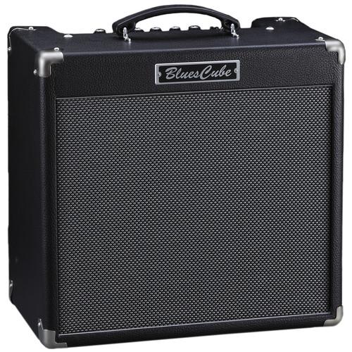 "Roland Blues Cube Hot 30W 1x12"" Guitar Combo Amplifier (Black)"