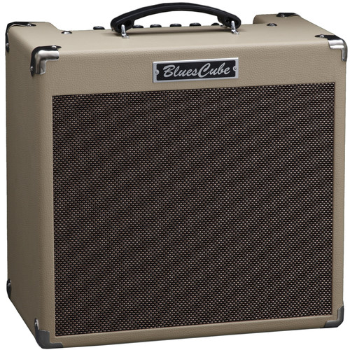 "Roland Blues Cube Hot 30W 1x12"" Guitar Combo Amplifier (Vintage Blonde)"