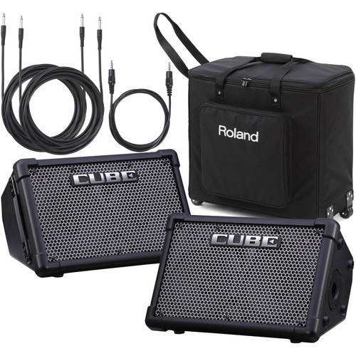 Roland CUBE Street EX PA Battery-Powered Amplifier Package