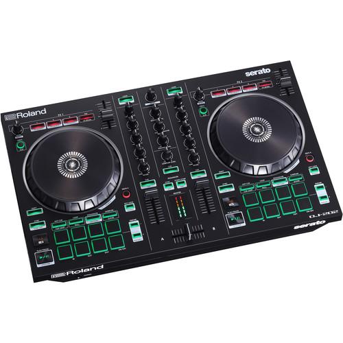 Roland DJ-202 2-Channel, 4-Deck DJ Controller for Serato DJ Lite
