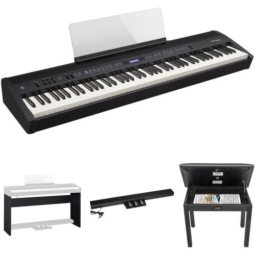 Roland FP-60 88-Key Digital Piano with Home/Studio Kit (Black)