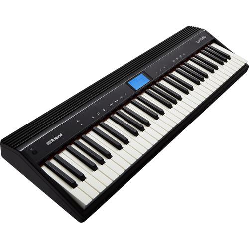 Roland GO-61PC GO:PIANO Digital Piano Bundle