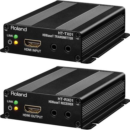 Roland HDBaseT Transmitter and Receiver Set