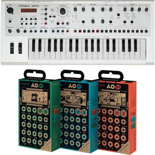 Roland JDXi Synthesizer Kit with Pocket Operator Bundle