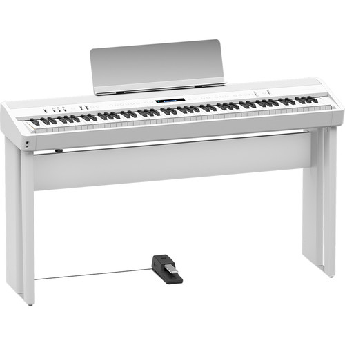 Roland KSC-90 Stand for FP-90 Digital Piano (White)