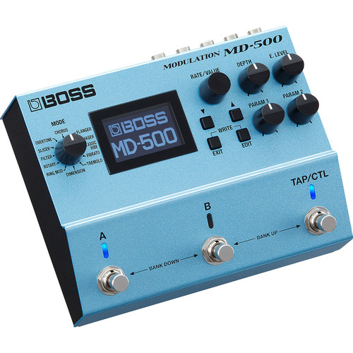 Boss MD-500 Modulation Multi-Effects Pedal for Electric Guitars