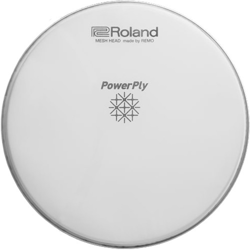 "Roland Powerply22""Dual Ply Mesh Head for Acoustic  Bass Drums"