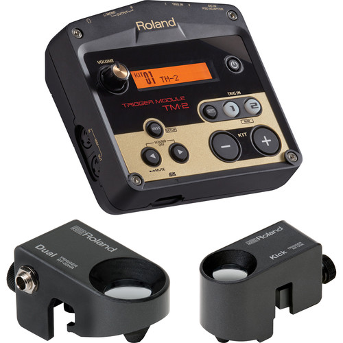 Roland PER-PK-HYB1 Trigger Pack for Hybrid Acoustic/Electric Drums