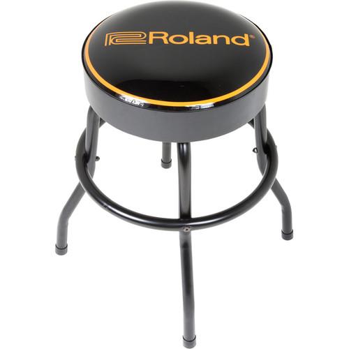 """Roland Short Swivel Barstool with Roland Logo (24"""")"""