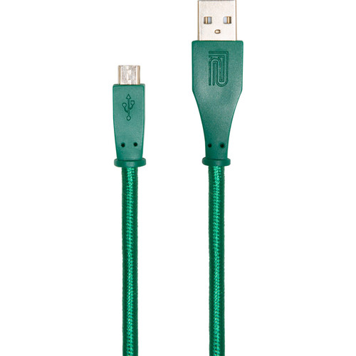 Roland USB Type-A Male to USB Micro Type-B Cable (5', Green)