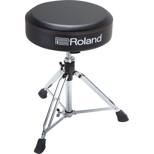 Roland Round Drum Throne with Rugged Vinyl Seat