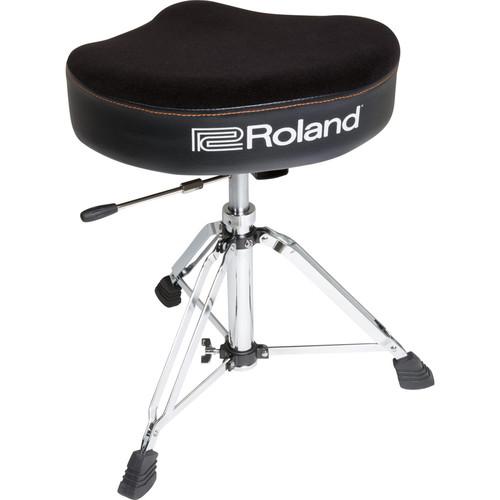 Roland Saddle Drum Throne with Hydraulic Adjustment